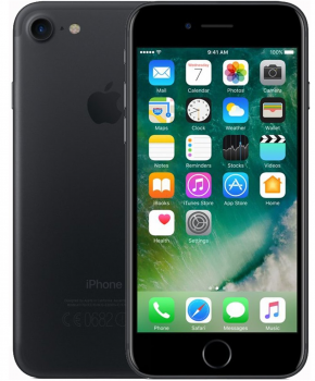 Apple Refurbished iPhone 7 128GB - Jet black zwart - remarketed - Als nieuw