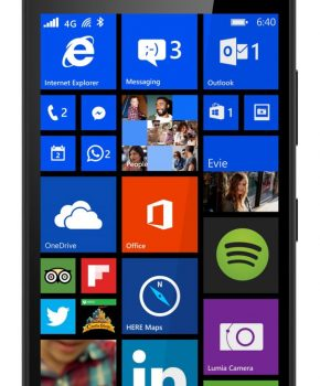 Refurbished Microsoft Lumia 640 - Zwart - Als nieuw