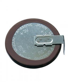 Knoopcelaccu lithium VL2030 met afleiders.