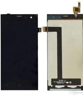 Voor Archos 45c Platinum- Lcd met digitizer - zwart