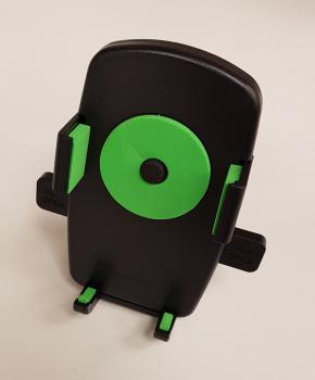 Universele (motor) fiets telefoon houder - green circle