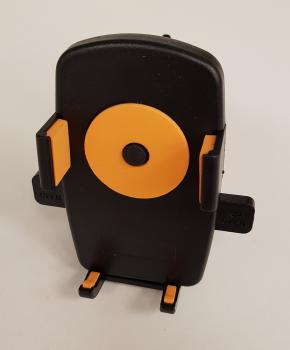 Universele (motor) fiets telefoon houder - orange circle