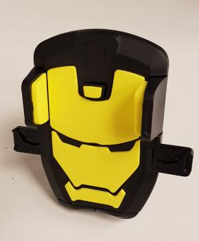 Fiets stuurhouder mobiele telefoon houder standaard beugel -geel/zwart