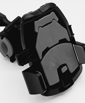 Fiets stuurhouder mobiele telefoon houder standaard beugel - zwart