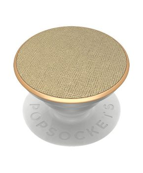 PopSockets Saffiano Gold