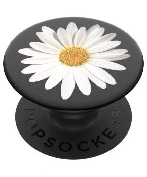 PopSockets White Daisy PopGrip (Gen 2)
