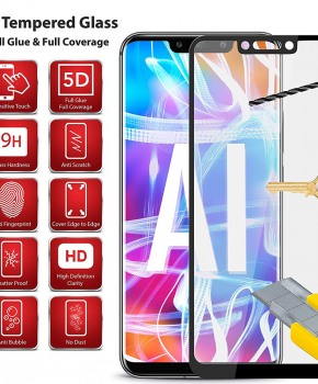5D screenprotector voor Huawei P30 pro - full glue
