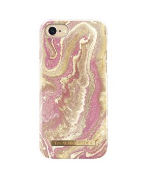 iDeal Fashion Case Golden Blush Marble iPhone 8/7/6S