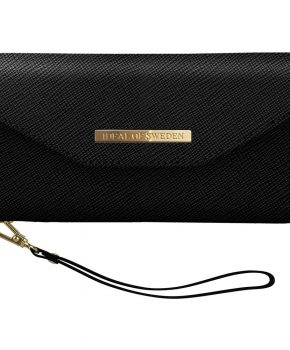 iDeal Mayfair Clutch Black iPhone XR