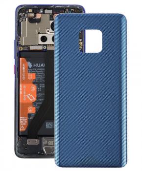 Batterij Cover - achterkant - geschikt voor de Huawei Mate 20 Pro -blauw