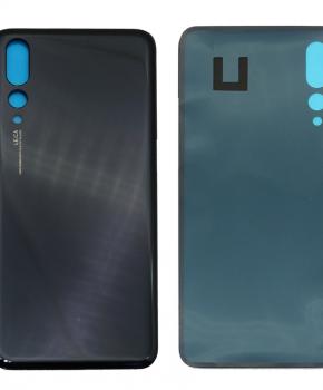 Batterij Cover - achterkant - geschikt voor de Huawei P20 Pro -zwart