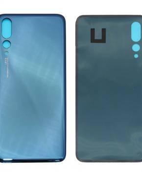 Batterij Cover - achterkant - geschikt voor de Huawei P20 Pro -blauw