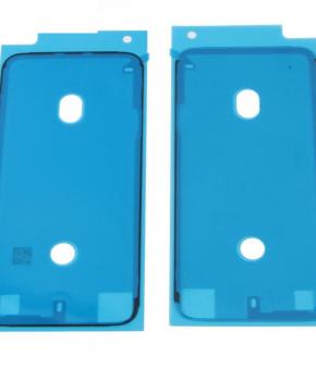 2 x Voor Iphone X - 3M frame/behuizing sticker - zwart