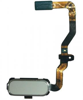 Voor Samsung S7 home button flexkabel - wit