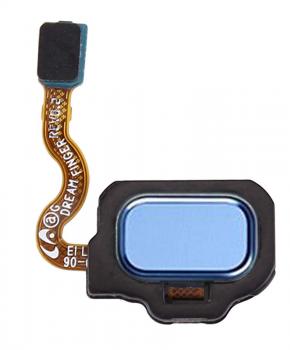 Voor Samsung S8 / S8 Plus Home button - blauw