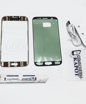 Voor Samsung Galaxy S6 glas reparatie set - goud