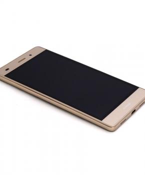 Voor Huawei P8 Lite LCD scherm met behuizing - goud