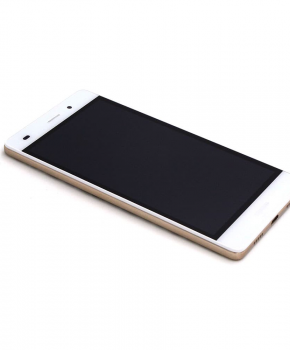 Voor Huawei P8 Lite LCD scherm met behuizing - wit