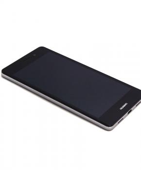 Voor Huawei P8 Lite LCD scherm met behuizing - zwart
