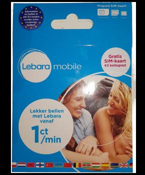 Gratis Prepaid simkaart Lebara