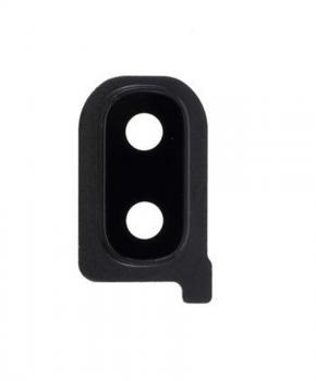 Voor Samsung Galaxy A40 SM-A405 - lenscover met lens - zwart