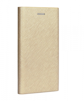 Bravo Book Case voor de Huawei P20 - goud - elegant