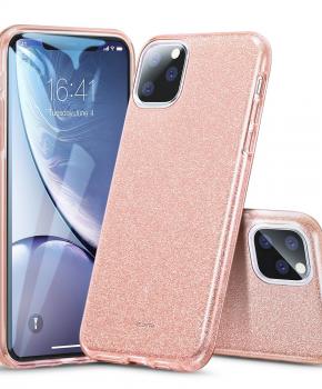 ESR Makeup Glitter-hoesje voor iPhone 11 PRO Max ( 6.5 ) - Koraal