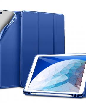 "ESR Rebound case met penhouder iPad Air 3 (10.5"") 2019 - blauw"
