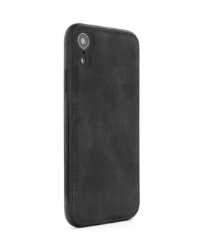 FORCELL Denim case voor Samsung A40 - zwart
