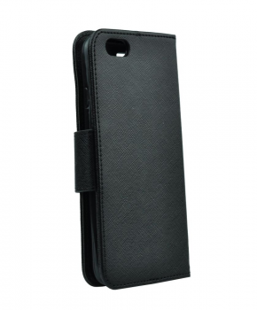 Fancy Book case voor iPhone 5 / 5S / SE - zwart