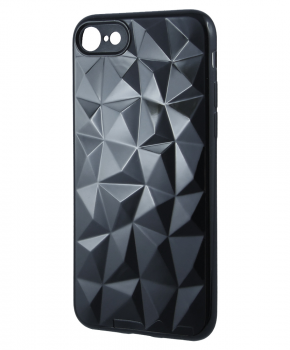 Forcell PRISM back cover voor iPhone 5 / 5S / SE - zwart