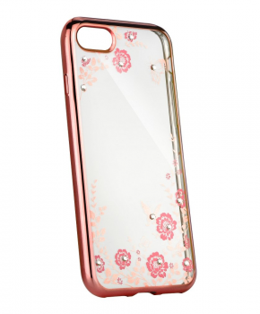 Forcell DIAMOND back cover voor iPhone 5 / 5S / SE - rose gold