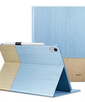 """ESR Simplicity case met penhouder voor iPad ( 9.7"""" ) 2017/ 2018 - blauw"""