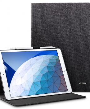"""ESR Simplicity case met penhouder voor iPad ( 9.7"""" ) 2018 - zwart"""