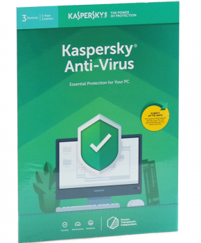 Kaspersky Anti-Virus | 3 Apparaten | 1 Jaar