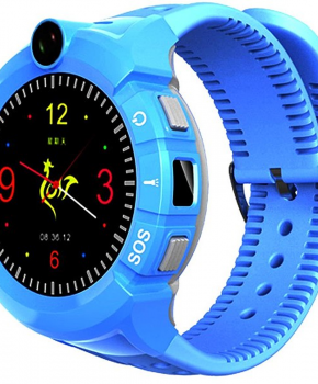 Kinder Smartwatch safety Watch met GPS en Wifi- blauw