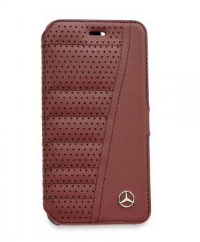 Originele Mercedes Book Case voor iPhone 6/6S - bruin