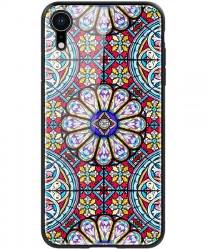 Nillkin Dreamland case voor iPhone XR -  glazen achterkant - zwart
