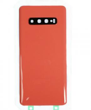 Voor Samsung Galaxy S10e achterkant reparatieset - roze