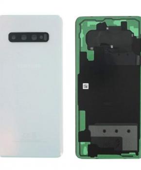 Voor Samsung Galaxy S10 achterkant reparatieset - wit