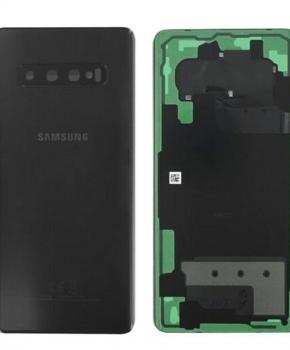 Voor Samsung Galaxy S10 achterkant reparatieset - zwart