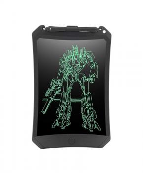 """LCD-schrijf tablet - E-notitieblok - 8,5 """"- zwart - met slot"""