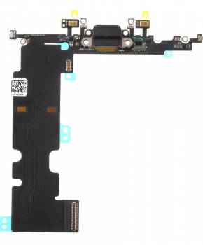 Voor Apple iPhone 8 Plus dock-connector flexkabel - zwart