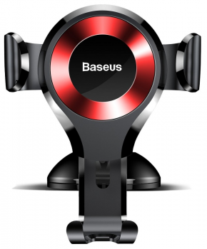 Baseus Gravity Dashboard Universele Verstelbare Telefoonhouder Rood
