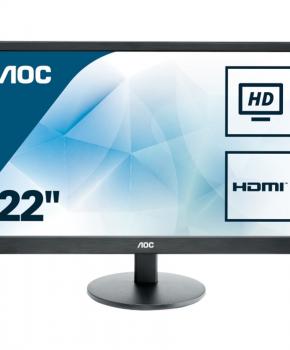 AOC E2270SWHN - Full HD Monitor - 21.5 inch scherm