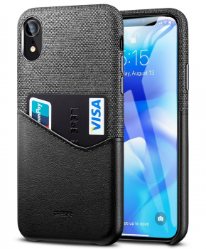 ESR Metro case voor Iphone XS Max - zwart