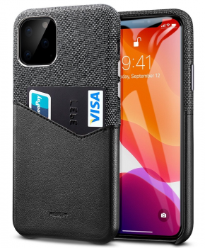 ESR Metro wallet case voor Iphone 11 PRO ( 5.8 ) - zwart