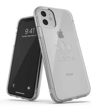 adidas protective Clear Case Big Logo FW19 for iPhone 11