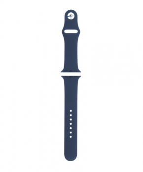 Sport strap compatible met Apple Watch 42/44mm /A008 / marineblauw