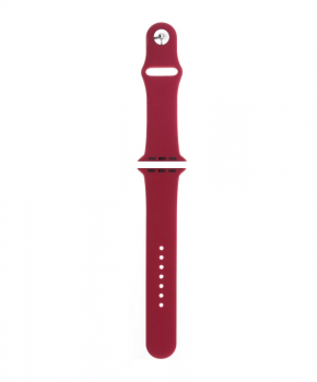 Sport strap compatible met Apple Watch 42/44mm /A036 - rood